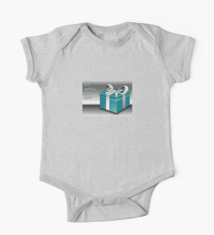 A Jade Wrapped Gift Box To Both Of You  One Piece - Short Sleeve