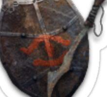 Mordor's shield Sticker
