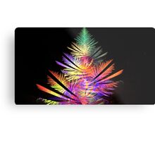 Rainbow Spruce Metal Print
