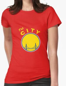 Golden_State_Warriors_Retro Womens Fitted T-Shirt