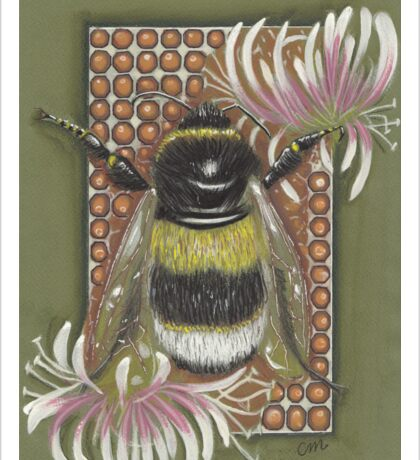 Bumble Bee. Sticker