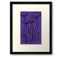 Shrooms Framed Print