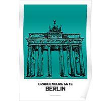 World Sketches - Brandenburg Gate Sketch Poster