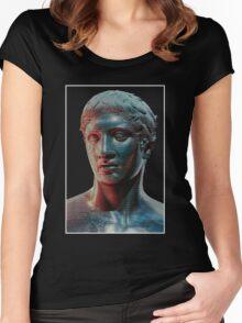 A E S T H E T I C - D O R Y P H O R O S Women's Fitted Scoop T-Shirt