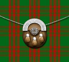 Clan Menzies Tartan And Sporran by thecelticflame