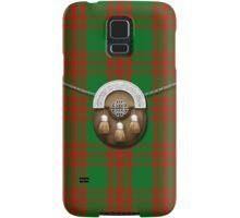 Clan Menzies Tartan And Sporran Samsung Galaxy Case/Skin