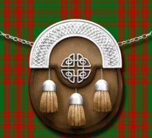 Clan Menzies Tartan And Sporran Sticker