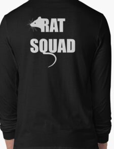 Rat Squad Design Long Sleeve T-Shirt