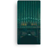 The Organist Canvas Print
