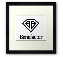 Benefactor Car Manufacturer Logo - GTA V Framed Print
