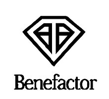 Benefactor Car Manufacturer Logo - GTA V Photographic Print