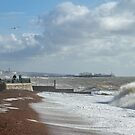 Brighton Sea by Sue Robinson