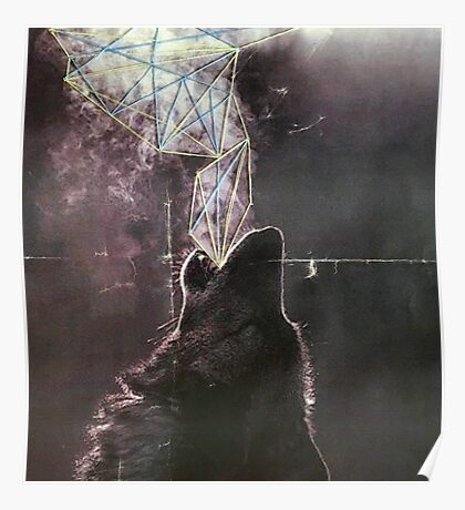 Wolves in the Night Poster