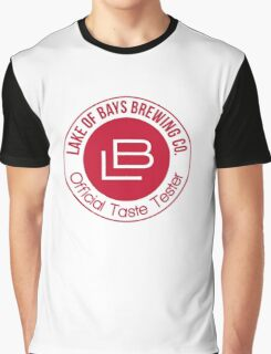 Lake of Bays Official Taste Tester Graphic T-Shirt