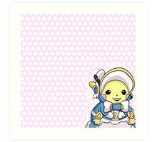 Pikachu Belle Art Print