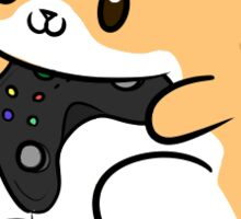 Gamer Pumpkin Sticker