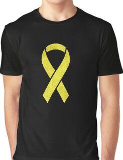 Yellow Ribbon  Graphic T-Shirt