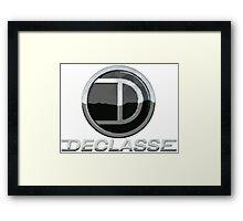 Declasse Car Manufacturer Logo - GTA V Framed Print