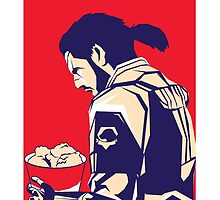 Metal Gear Fried Chicken - 1 by Sean Hollyman