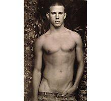 Vintage Channing Tatum Photographic Print
