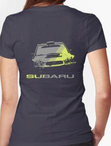Subaru Impreza Womens Fitted T-Shirt