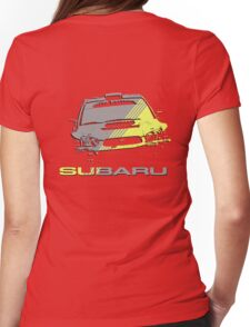 Subaru Impreza Womens Fitted T-Shirt