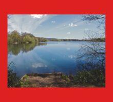 Lake and Reflection Baby Tee