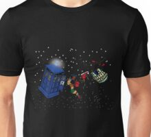 Doctor Who TARDIS Clothes Line Unisex T-Shirt