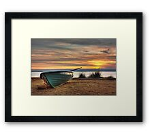 Where do you want to go? Framed Print