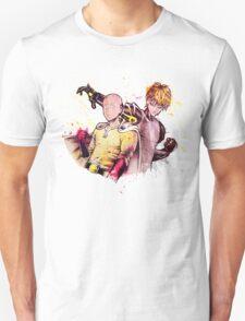 One Punch Man SAITAMA and GENOS T-Shirt
