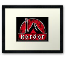 Middle Earth Expeditions (Mordor) Framed Print