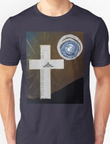 Book page cross Unisex T-Shirt