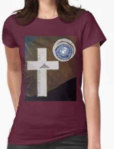 Book page cross T-Shirt