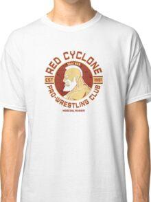 Street Fighter 2 Zangief Inspired Wrestling School Classic T-Shirt