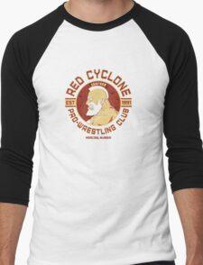 Street Fighter 2 Zangief Inspired Wrestling School Men's Baseball ¾ T-Shirt