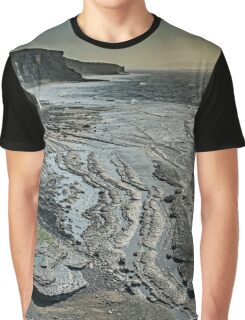 Glamorgan Heritage Coast from Southerndown Graphic T-Shirt