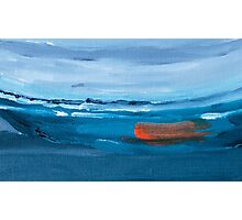 Boat Abstract Painting Photographic Print