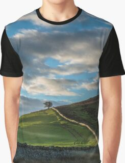 Brecon Beacons Early Morning Graphic T-Shirt