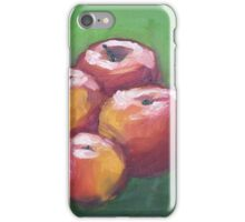 Apples Oil Painting iPhone Case/Skin