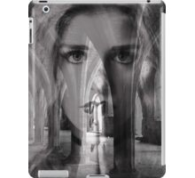 A face in the crypt iPad Case/Skin