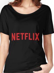 Netflix Logo Women's Relaxed Fit T-Shirt