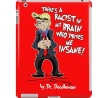 "Donald Hears A ""Booo!"" iPad Case/Skin"