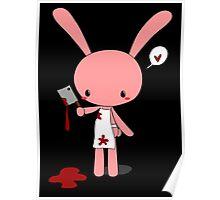 Butcher Bunny Poster