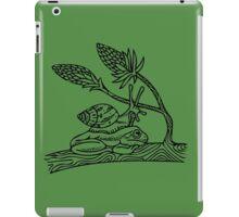 Snail on Frog iPad Case/Skin
