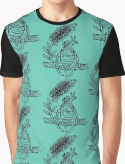 Snail on Frog Deux Graphic T-Shirt