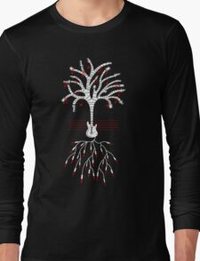 Guitar tree white Long Sleeve T-Shirt