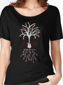 Guitar tree white Women's Relaxed Fit T-Shirt