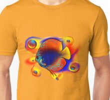 Discuremia V1 - abstract digital artwork, printable digital painting Unisex T-Shirt