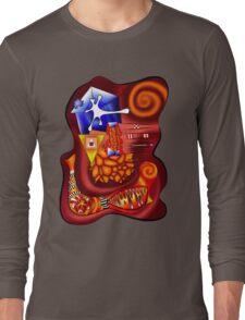 Versophomus V3 - abstract digital artwork Long Sleeve T-Shirt