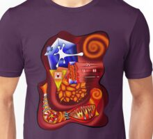 Versophomus V3 - abstract digital artwork Unisex T-Shirt